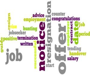 Job Offer and tending resignation