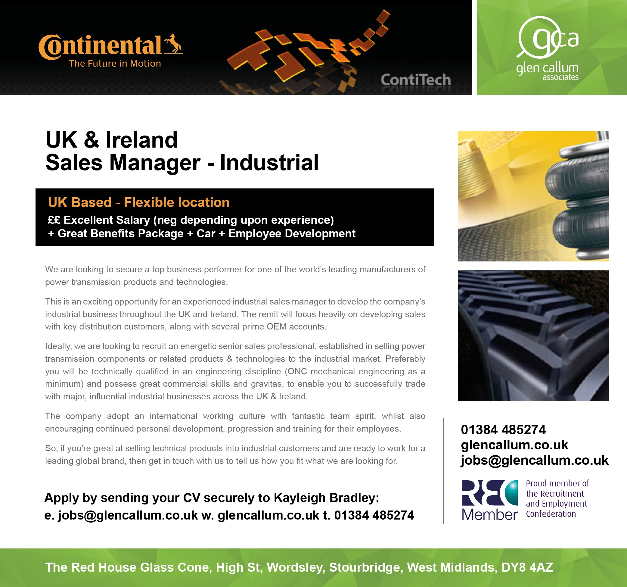 Glen Callum Associates Now Working With Continental