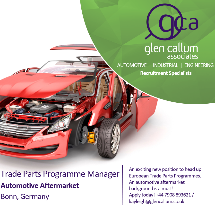 automotive Trade Parts Job