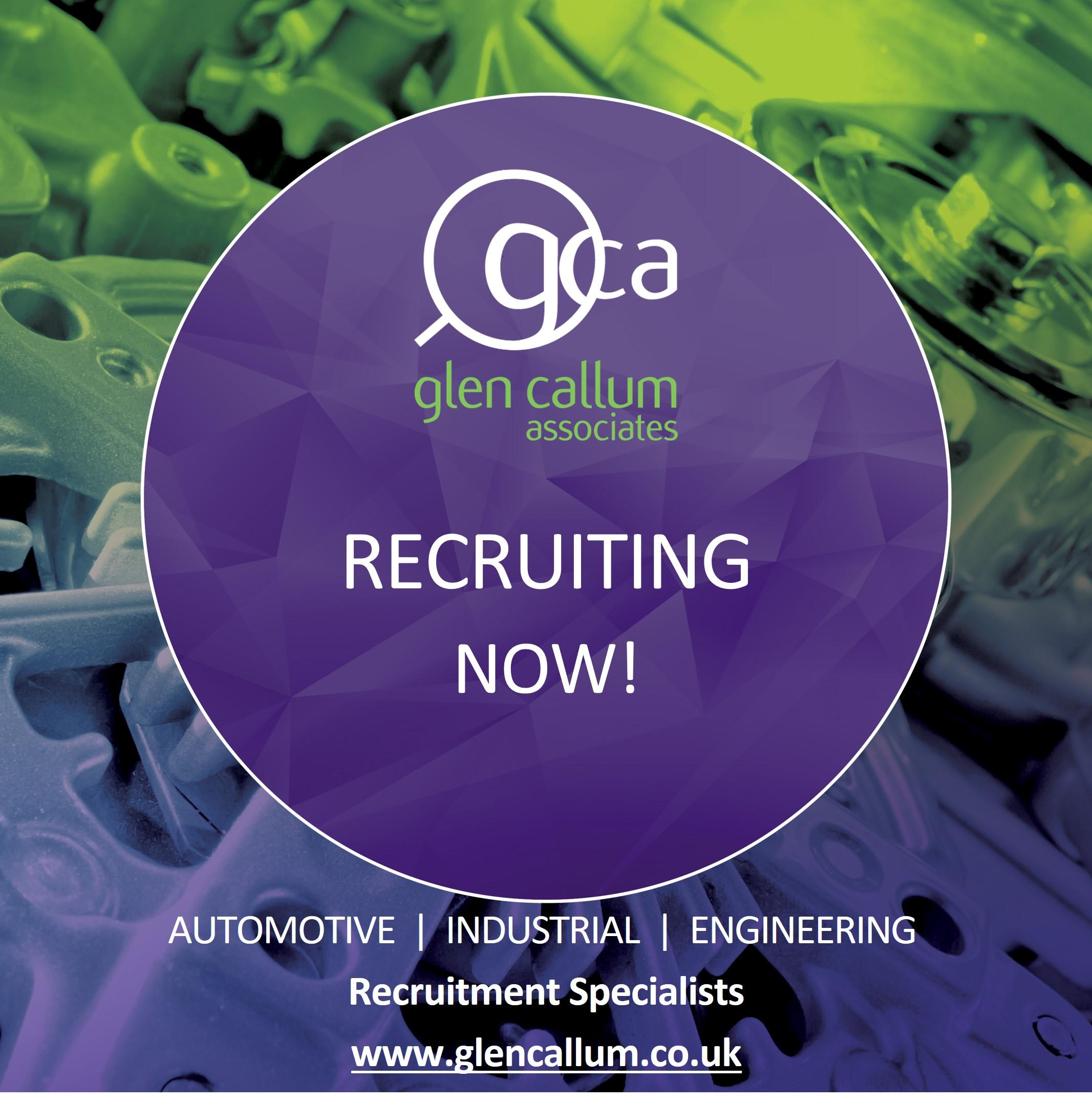 Glen Callum Associates jobs