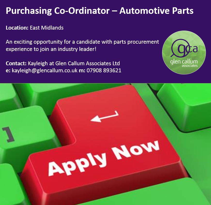 Parts Buyer Automotive Parts